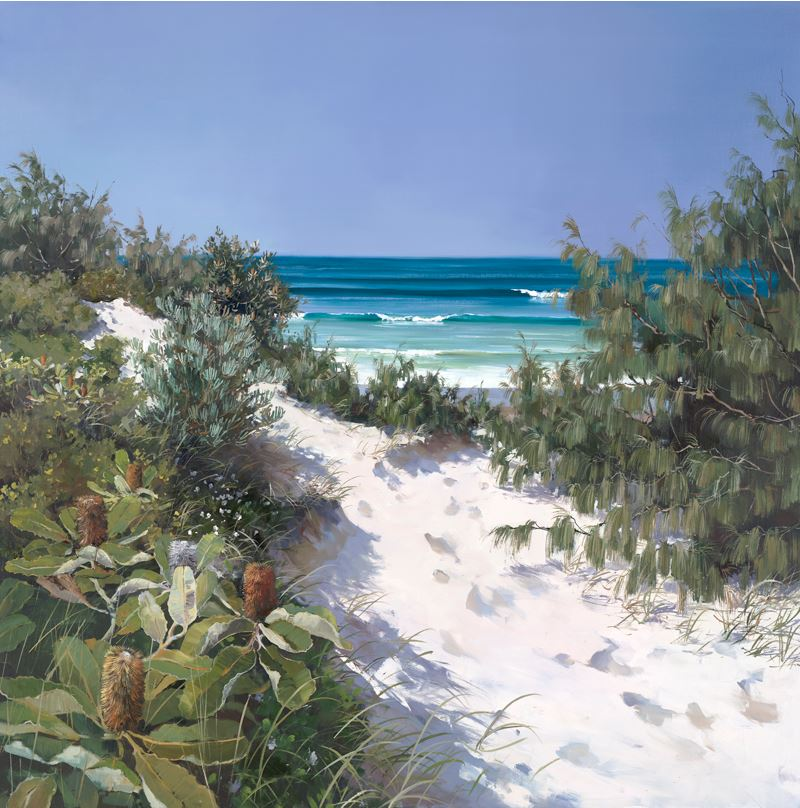 Coastal Dunes by Raelean Hall