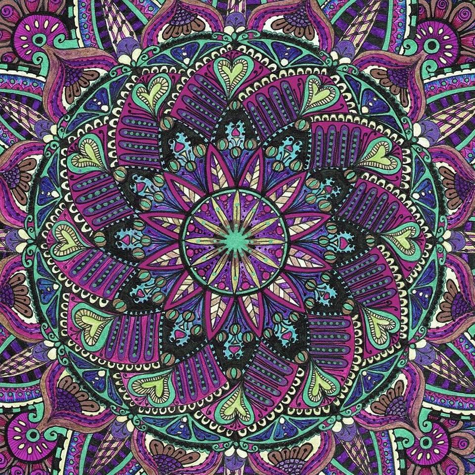Mandala 20 by Rowena Robinson